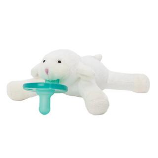 WubbaNub, Infant Pacifier, 0-6 Months, Little Lamb, 1 Pacifier