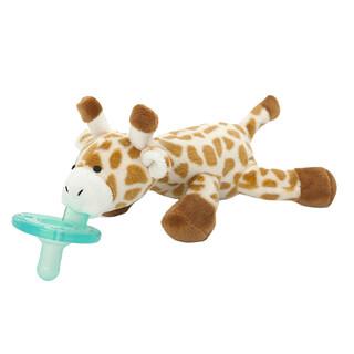 WubbaNub, Infant Pacifier, 0-6 Months, Baby Giraffe, 1 Pacifier