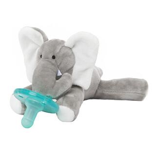 WubbaNub, Infant Pacifier, 0-6 Months, Baby Elephant, 1 Pacifier