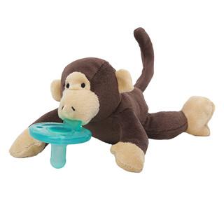 WubbaNub, Infant Pacifier, 0-6 Months, Monkey, 1 Pacifier