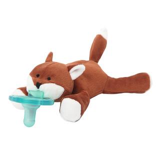 WubbaNub, Infant Pacifier, 0-6 Months, Baby Fox, 1 Pacifier