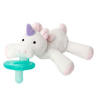 WubbaNub, Infant Pacifier, 0-6 Months, Unicorn, 1 Pacifier