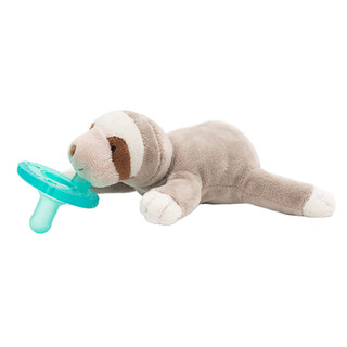 WubbaNub, Infant Pacifier, 0-6 Months, Baby Sloth, 1 Pacifier