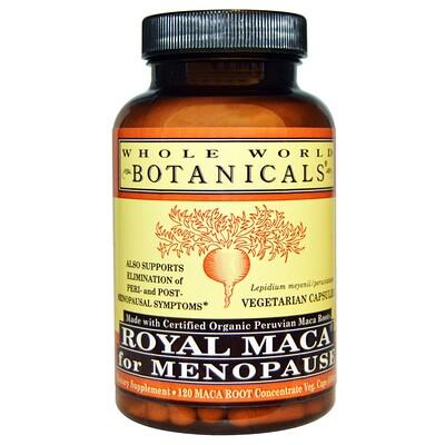 Королевская мака для менопаузы, 500 мг, 120 растительных капсул стоимость