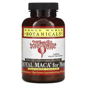 Вхоле Ворлд Ботаникалс, Royal Maca for Men, Gelatinized, 500 mg, 180 Vegetarian Capsules отзывы покупателей