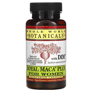 Whole World Botanicals, Royal Maca Plus For Women, 500 mg, 90 Vegetarian Capsules