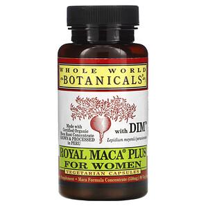 Вхоле Ворлд Ботаникалс, Royal Maca Plus For Women, 500 mg, 90 Vegetarian Capsules отзывы покупателей