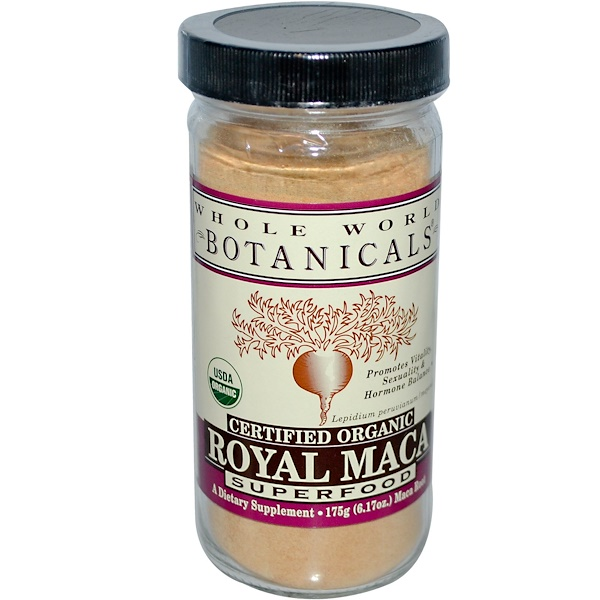 Whole World Botanicals, Royal Maca, Superfood, 6.17 oz (175 g)