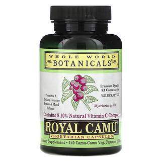 Whole World Botanicals, Royal Camu, 350 mg, 140 Vegetarian Capsules