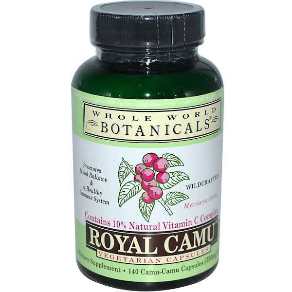 Camu Royal, 350 mg, 140 Cápsulas Vegetais