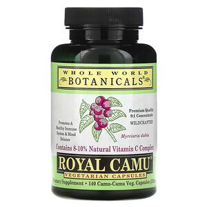 Вхоле Ворлд Ботаникалс, Royal Camu, 350 mg, 140 Vegetarian Capsules отзывы