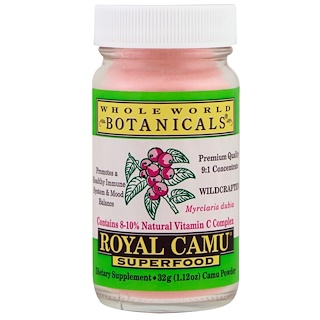 Whole World Botanicals, Royal Camu Superfood, 1.12 oz (32 g)