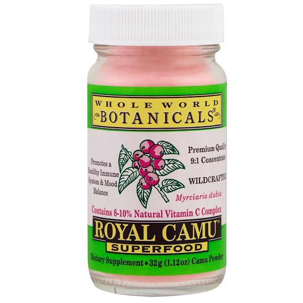 Whole World Botanicals, Royal Camu Superfood, 1.12 oz (32 g) (Discontinued Item)