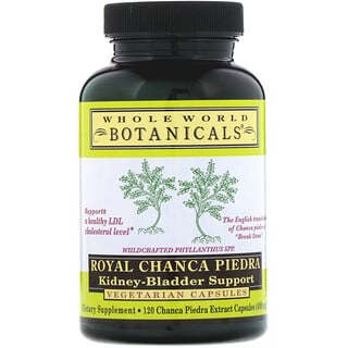 Whole World Botanicals, Royal Chanca Piedra, Kidney-Bladder Support, 400 mg, 120 Vegetarian Capsules