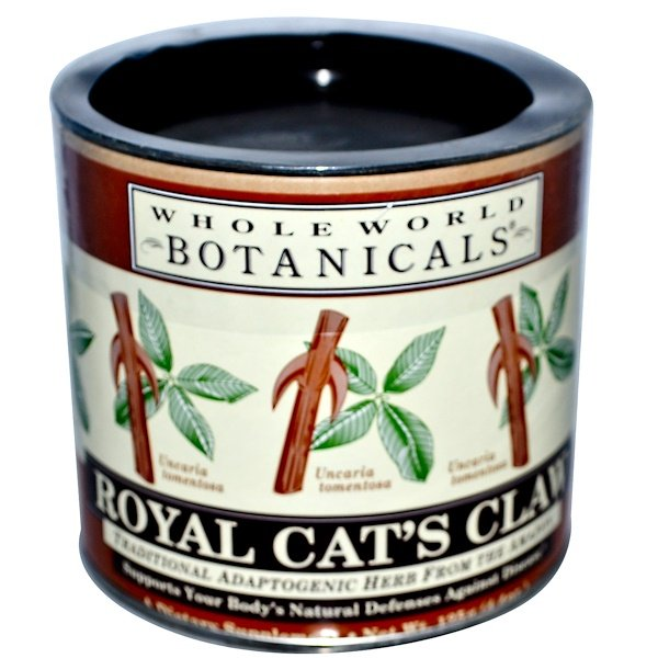 Whole World Botanicals, Unha-de-Gato Royal, 125 g (4,4 oz)
