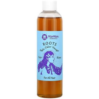 WiseWays Herbals, Roots, Apple Cider Vinegar Hair Rinse, For All Hair, 8 oz (236 ml)