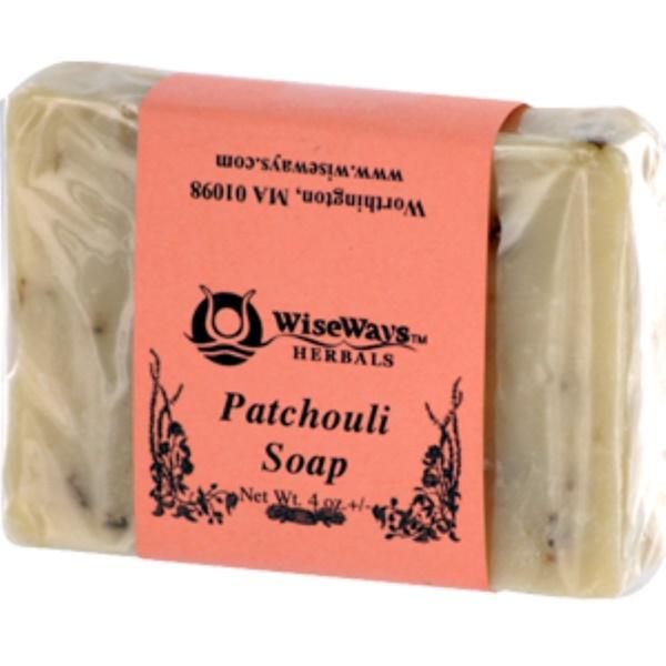 WiseWays Herbals, LLC, Мыло Пачули 4 унций (Discontinued Item)