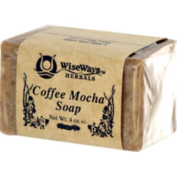 WiseWays Herbals, LLC, Coffee Mocha Soap, 4 oz (Discontinued Item)