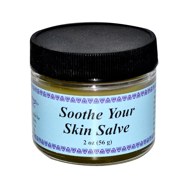 WiseWays Herbals, LLC, Soothe Your Skin Salve, 2 oz (56 g) (Discontinued Item)
