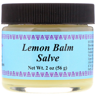 WiseWays Herbals, LLC, Zitronenmelisse-Salbe, 2 oz (56 g)