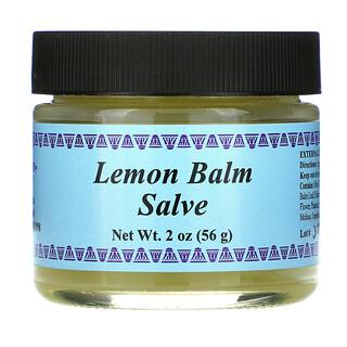 WiseWays Herbals, Lemon Balm Salve, 2 oz (56 g)