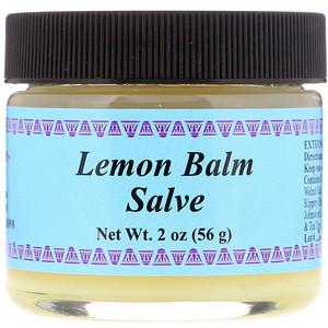 Уайз Уэйз Хербалс, Lemon Balm Salve, 2 oz (56 g) отзывы