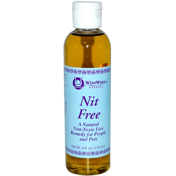 WiseWays Herbals, Nit Free, 4 fl oz (118 ml) (Discontinued Item)