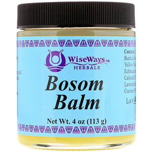 Уайз Уэйз Хербалс, Bosom Balm, 4 oz (113 g) отзывы
