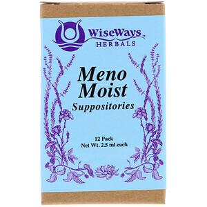 Уайз Уэйз Хербалс, Meno Moist Suppositories, 12 Pack, 2.5 ml Each отзывы покупателей