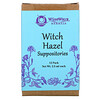 WiseWays Herbals, تحاميل ويتش هازل، 12 حزمة، 2.5 مل لكل منها