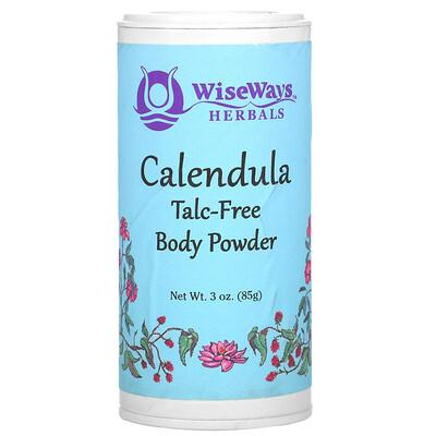 WiseWays Herbals Calendula Body Powder, 3 oz (85 g)