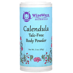 WiseWays Herbals, 金盞花爽身粉,3 盎司(85 克)