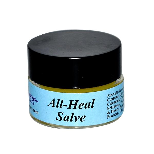 WiseWays Herbals, LLC, All-Heal Salve, 1/4 oz (7.1 g)