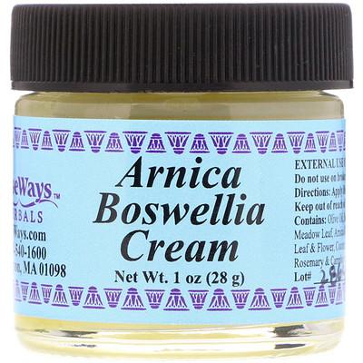 WiseWays Herbals Крем с арникой и босвеллией, 28 г (1 унция)