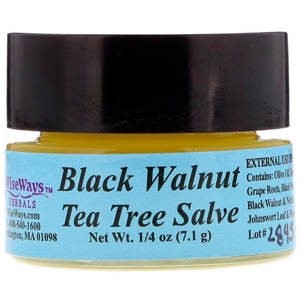 Black Walnut Tea Tree Salve, 1/4 oz (7.1 g)