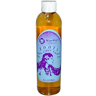 WiseWays Herbals, LLC, Roots Apple Cider Vinegar, Hair Tonic, 8.4 oz (250 ml)
