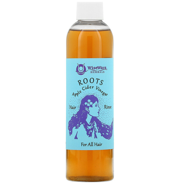 Roots, Apple Cider Vinegar Hair Rinse, For All Hair, 8 oz (236 ml)
