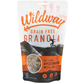 Wildway, Grain Free Granola, Apple Cinnamon, 8 oz (227 g)