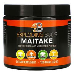 Exploding Buds, Maitake, Certified Organic Mushroom Powder,  4.2 oz (120 g)