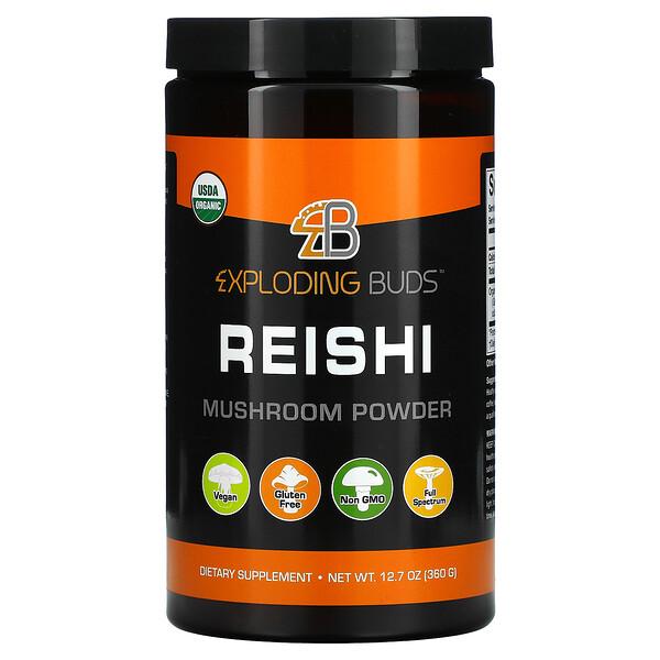 Exploding Buds, Reishi, Mushroom Powder, 12.7 oz (360 g)