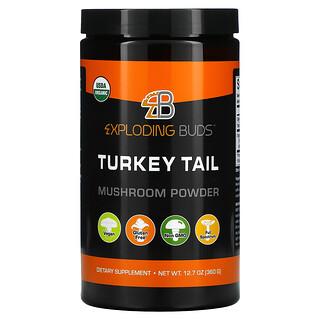 Exploding Buds, Turkey Tail, Mushroom Powder, 12.7 oz (360 g)