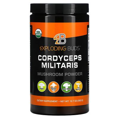 Exploding Buds кордицепс военный, грибной порошок, 360г (12,7унции)