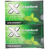 Xyloburst, All Natural Xylitol Gum, Spearmint, 12 Packs, 12 Pieces per Pack