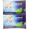 Xyloburst, All Natural Xylitol Gum, Peppermint, 12 Packs, 12 Pieces per Pack