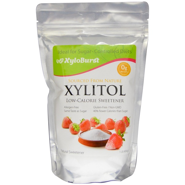 Xyloburst, Xylitol Low-Calorie Sweetener, 1 lb (454 g) (Discontinued Item)