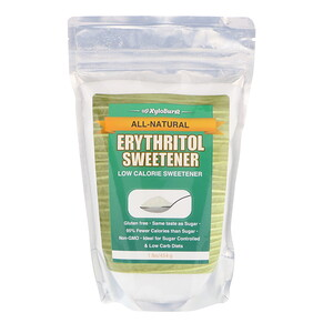 Ксилоберст, All-Natural Erythritol Sweetener, Low Calorie Sweetener, 1 lb. (454 g) отзывы покупателей