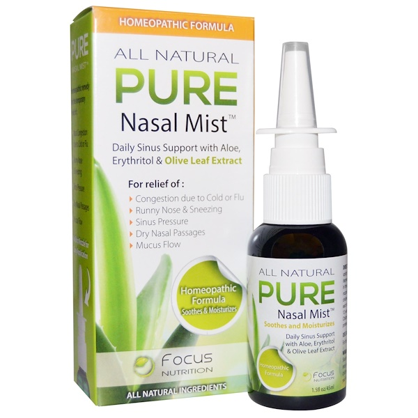 Pure Nasal Mist, 1.5 fl oz (45 ml)