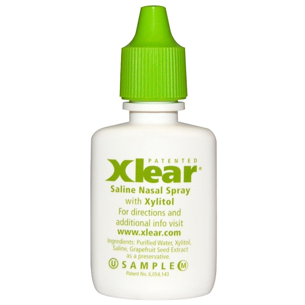 Xlear, Xylitol, Saline Nasal Spray with Xylitol, .25 fl oz (Discontinued Item)