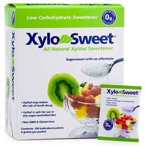 Кслир, Xylo-Sweet, 100 Packets, 4 g Each отзывы покупателей