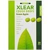Xlear, Xylitol, Cough Drops, Sugar Free, Green Apple, 30 Drops
